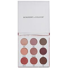 Academy of Colour Mulberry 9 Shade Eyeshadow Palette