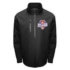 Men's Franchise Club Clemson Tigers 2016 National Champions Softshell Jacket