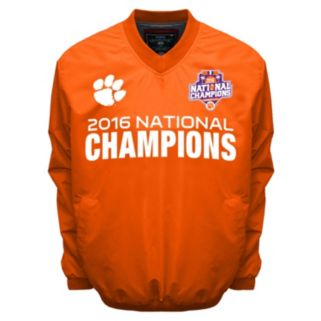 Men's Franchise Club Clemson Tigers 2016 National Champions Windshell Jacket
