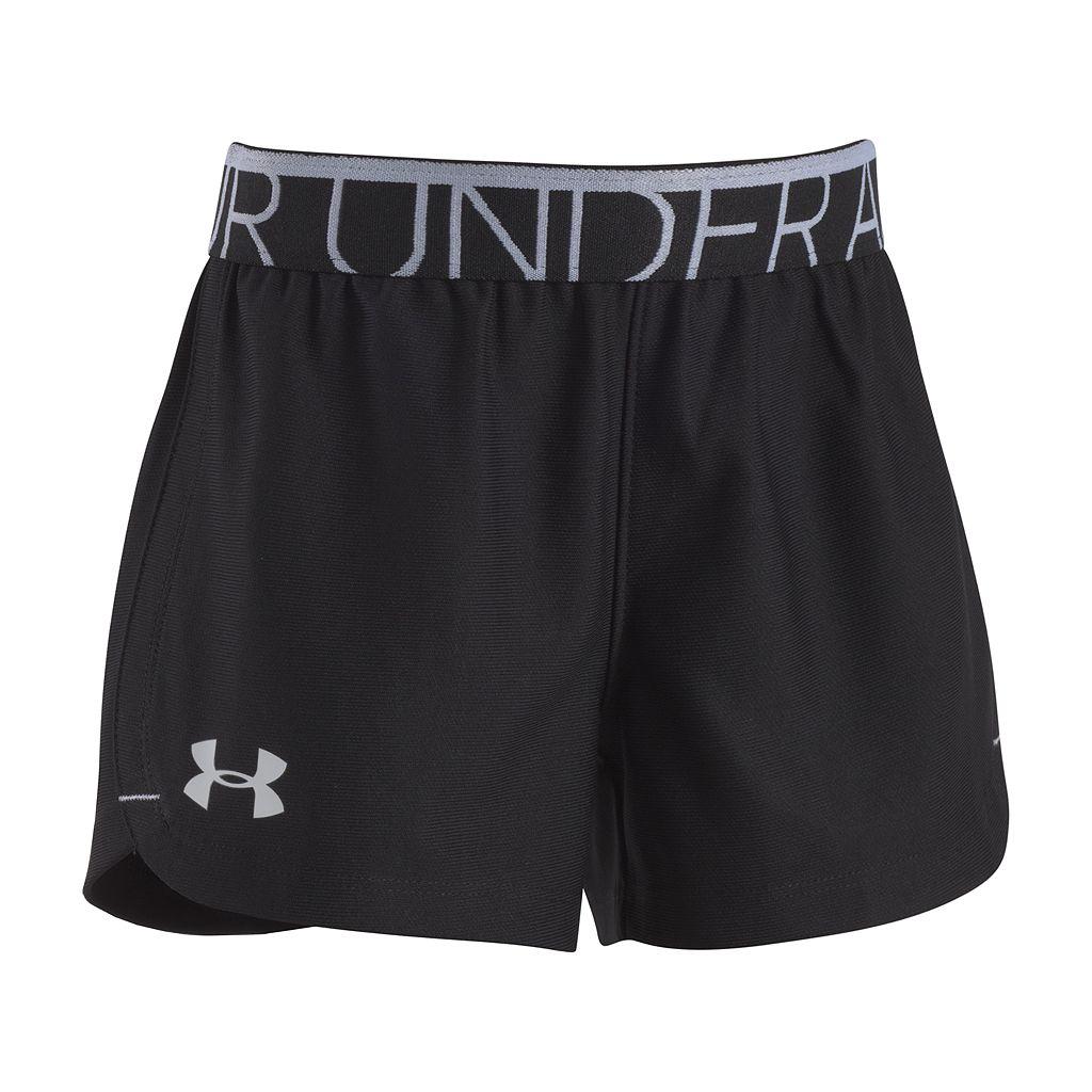 Girls 4-6x Under Armour Logo Athletic Shorts