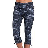 Women's Jockey Sport Texture Weave Print Capri Leggings