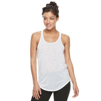 Juniors' SO® Shirttail Racerback Tank