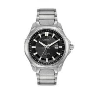 Citizen Eco-Drive Men's TI + IP Super Titanium Watch - AW1540-88E