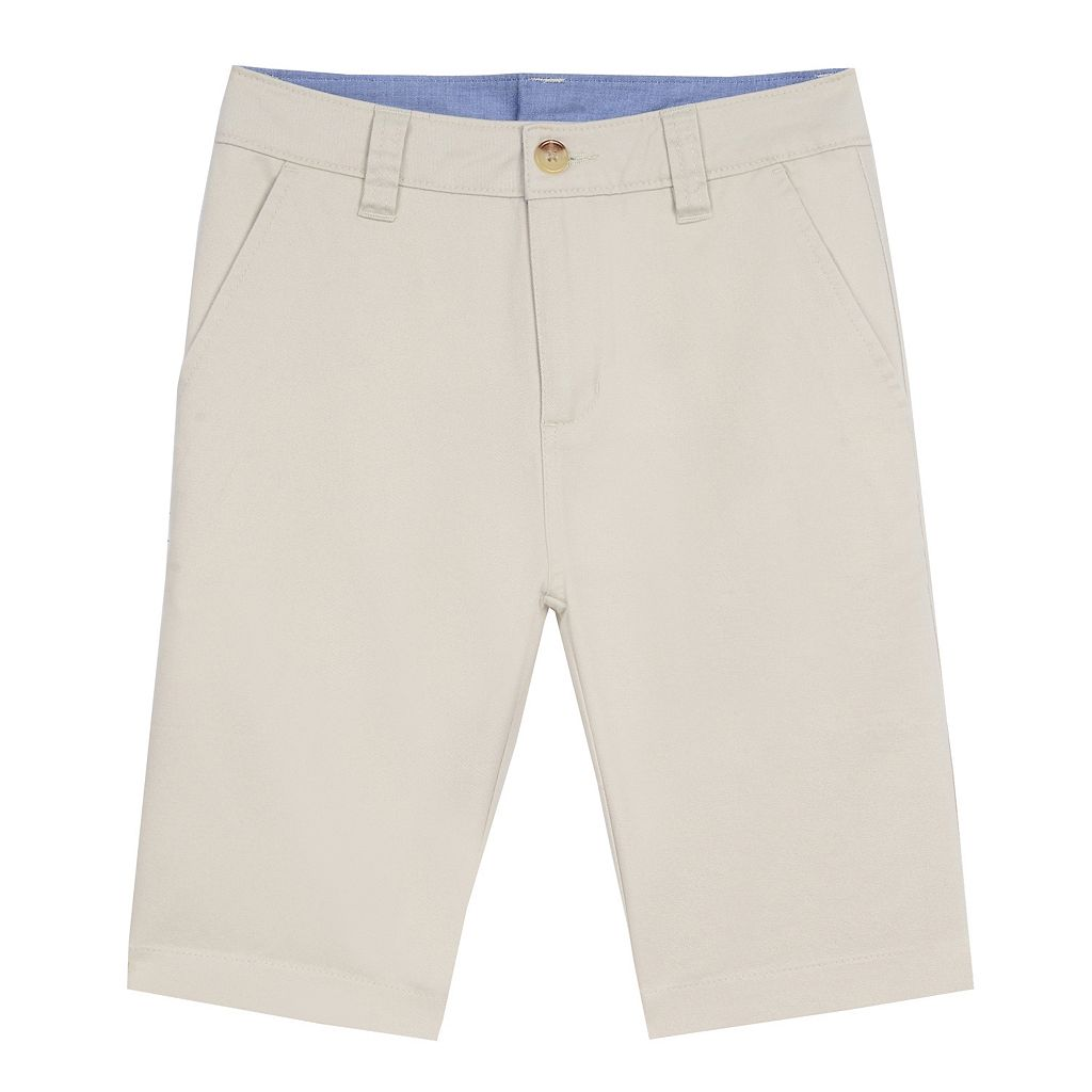 Boys 4-20 Chaps Flat-Front Shorts