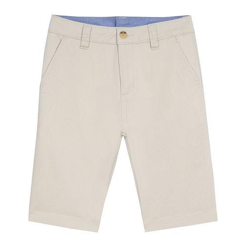 Boys 4-20 Chaps Flat-Front Shorts
