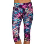 Women's Jockey Sport Floral Print Capri Leggings