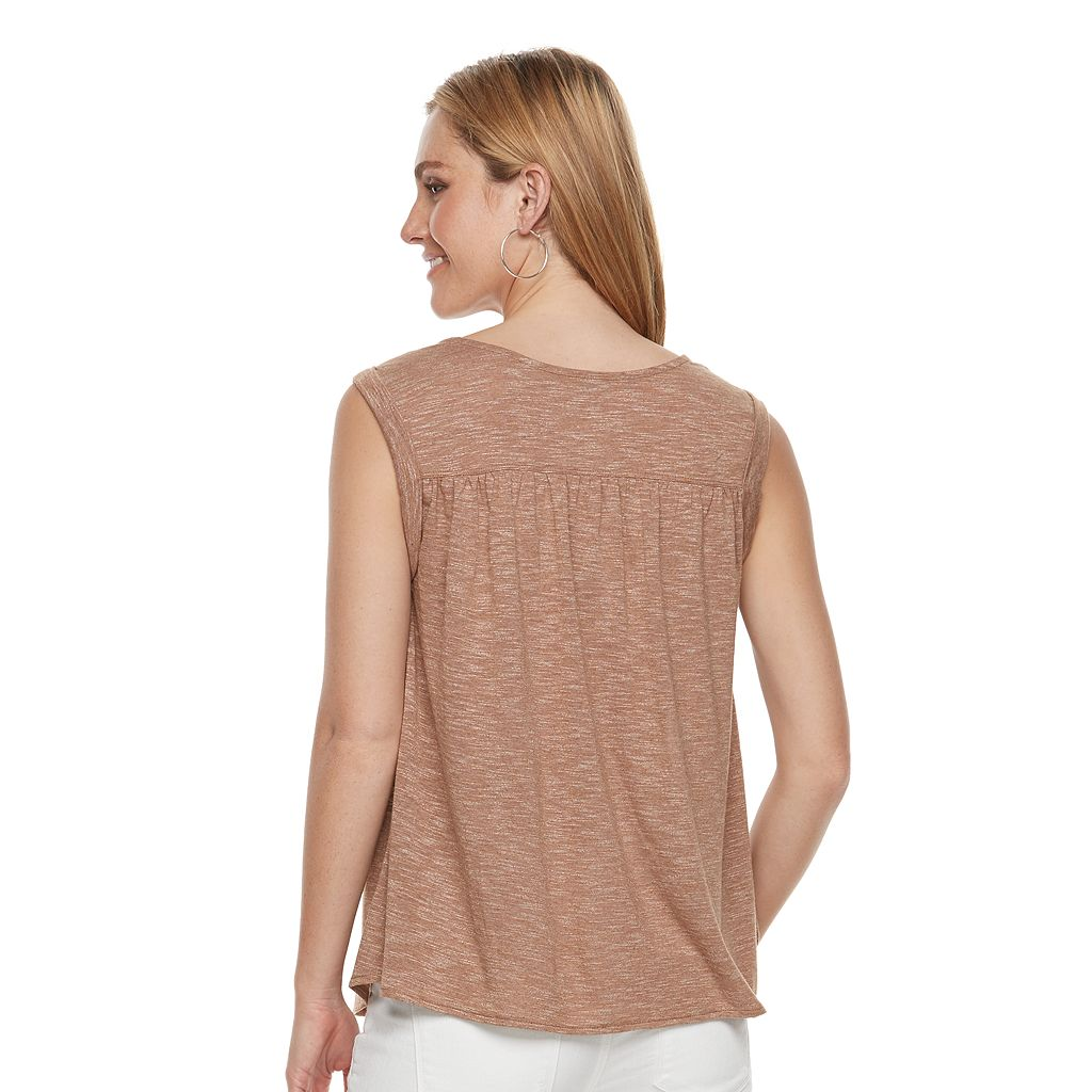Women's SONOMA Goods for Life™ Heathered Tank