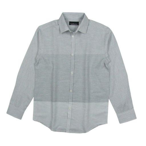 Boys 8-20 Van Heusen Striped Button-Down Shirt