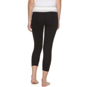 Juniors' SO® Capri Yoga Leggings