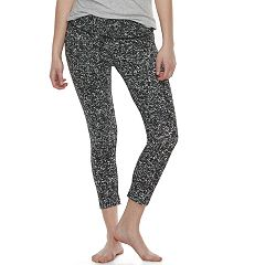 Juniors' SO® Capri Yoga Leggings