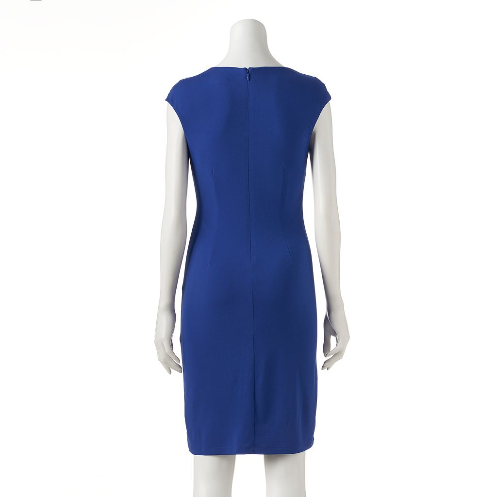 Women's Jessica Howard Draped Sheath Dress