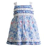 Baby Girl Youngland Floral Ruffled Dress