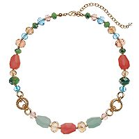 Napier Pastel Beaded Necklace