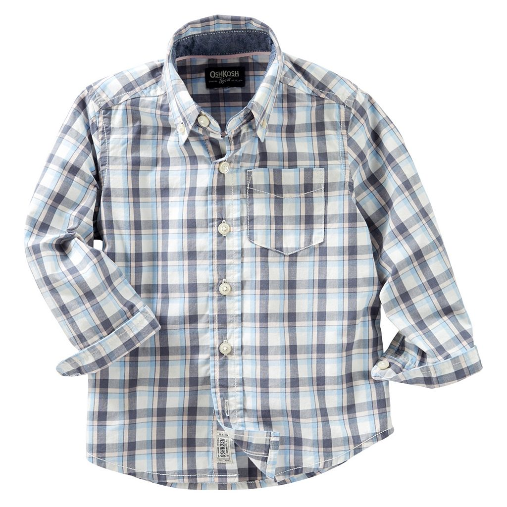 Toddler Boy OshKosh B'gosh® Plaid Shirt
