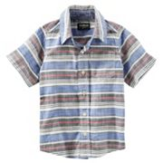 Boys 4-12 OshKosh B'gosh® Short Sleeve Button-Front Shirt