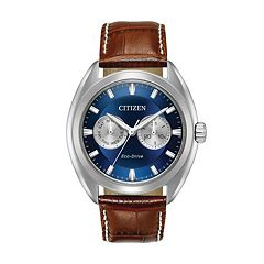 Citizen Eco-Drive Men's Paradex Leather Watch - BU4010-05L