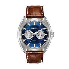 Citizen Eco-Drive Men's Paradex Leather Watch - BU4010-05L