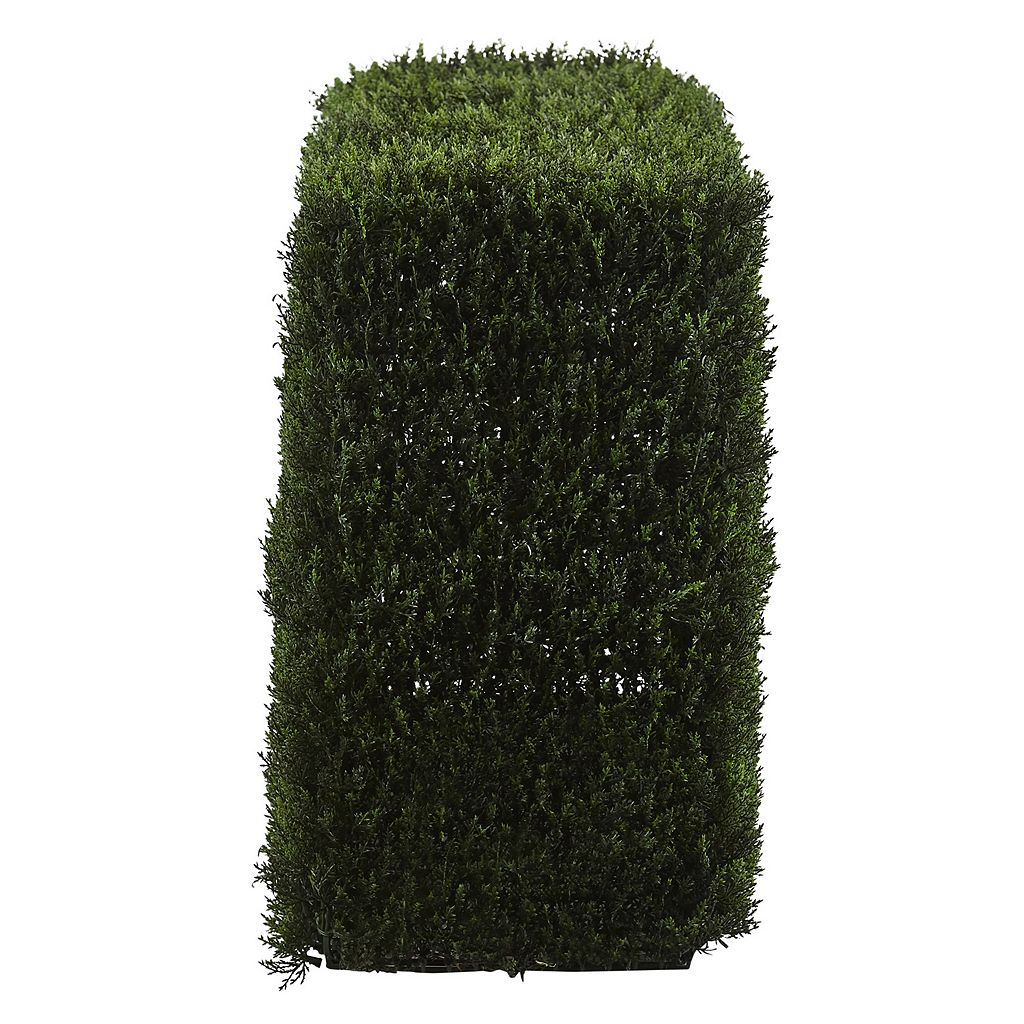 nearly natural Artificial 20-in. Decorative Cedar Hedge