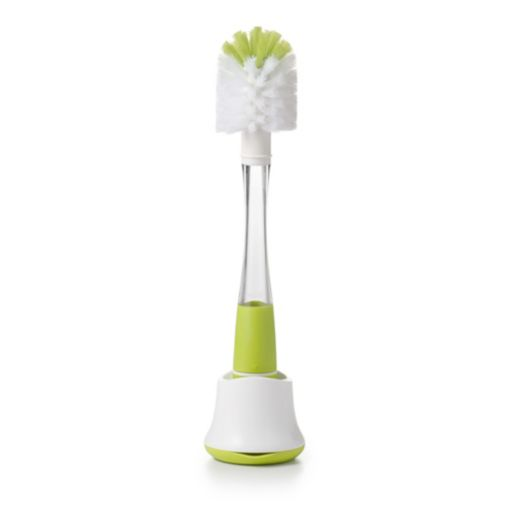 OXO Tot Soap Dispensing Bottle Brush & Stand Set