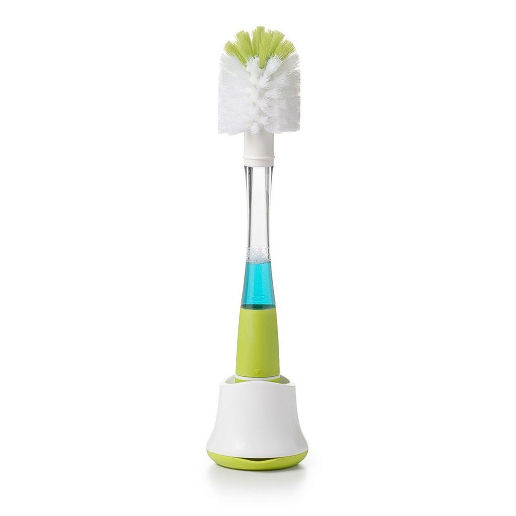 OXO Tot Soap Dispensing Bottle Brush & Stand Set