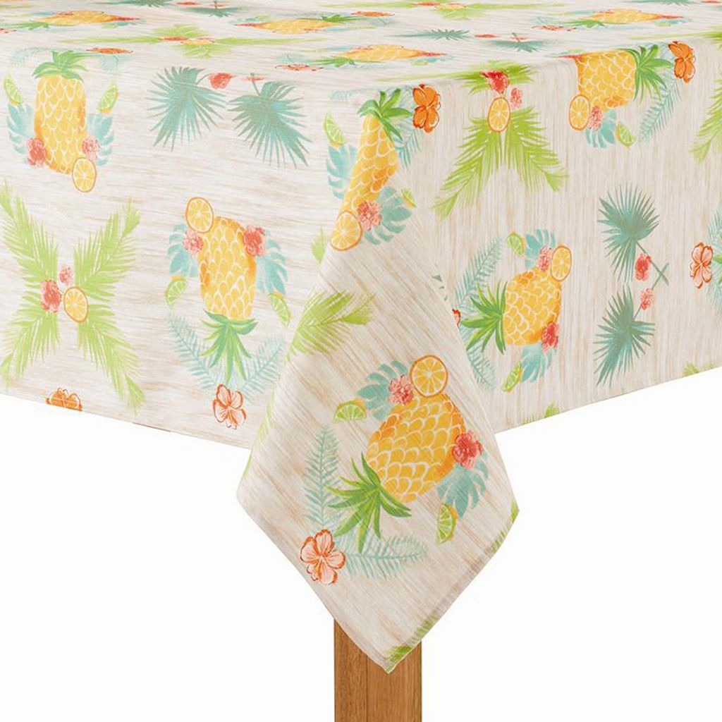 Celebrate Summer Together Pineapple Tablecloth