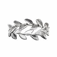 PRIMROSE Sterling Silver Leaf Ring