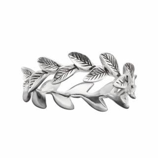 PRIMROSE Sterling Silver Leaf Ring