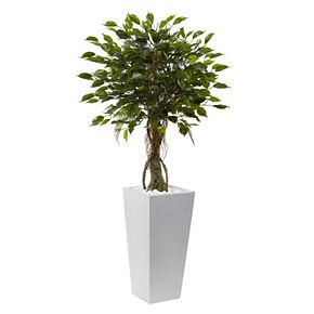 nearly natural Artificial 52-in. Ficus Tree