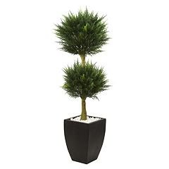 nearly natural Artificial 4.5-ft. Cypress Topiary