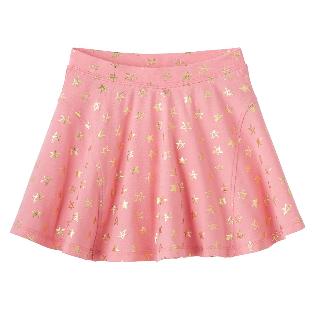 Girls 4-10 Jumping Beans® Pattern Skort