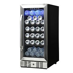 NewAir 96-Can Compressor Beverage Cooler