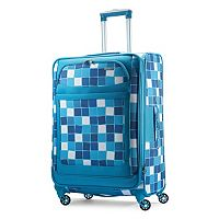 American Tourister iLite MAX Checks Spinner Luggage