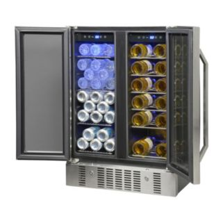 NewAir 18-Bottle & 60 Can Dual Zone Wine & Beverage Cooler