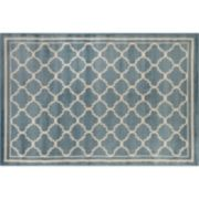 World Rug Gallery Alpine Contemporary Modern Trellis Rug