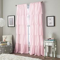 Window Curtainworks Flounced Ruffle Window Curtain