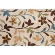 World Rug Gallery Alpine Modern Contemporary Leaves Rug