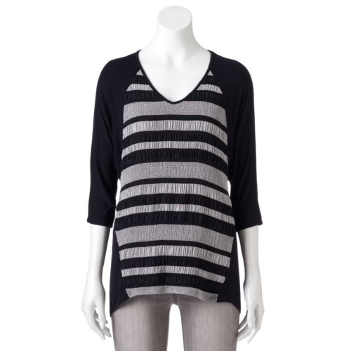 Women's Dana Buchman Striped Dolman Tee