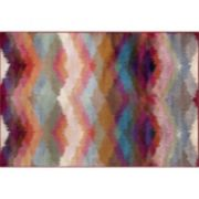 World Rug Gallery Loft Distressed Modern Geometric Rug