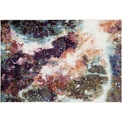 World Rug Gallery Loft Distressed Abstract Rug