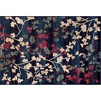 World Rug Gallery Loft Contemporary Floral Rug