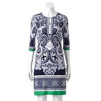 Women's Studio One Paisley Shift Dress