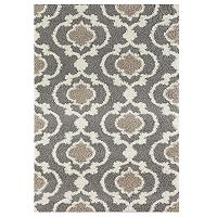 World Rug Gallery Florida Cozy Moroccan Trellis Shag Rug