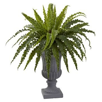 nearly natural 30-in. Bird's Nest Fern Artificial Plant