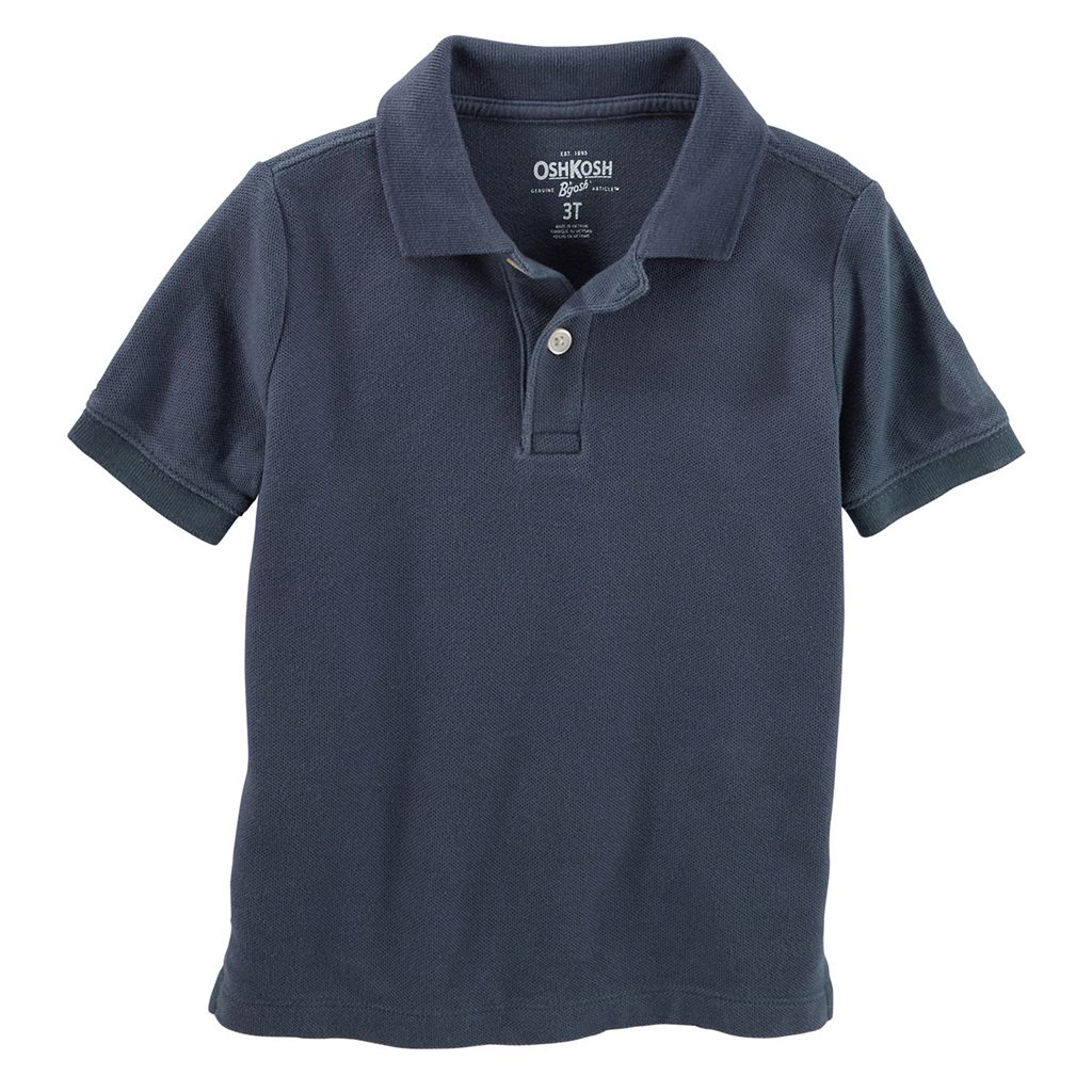 Toddler Boy OshKosh B'gosh® Solid Pique Polo