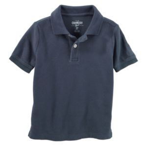 Toddler Boy OshKosh B'gosh® Solid Pique Polo