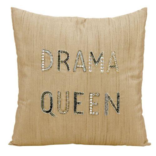 Mina Victory Lumin ''Drama Queen'' Throw Pillow