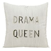Mina Victory Lumin ''Drama Queen'' Throw Pillow
