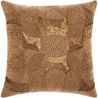 Mina Victory Lumin Antique Beading Throw Pillow