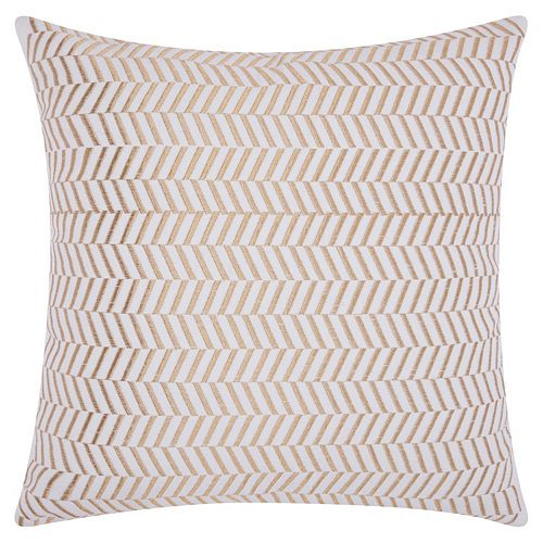 Mina Victory Lumin Alternative Chevron Throw Pillow