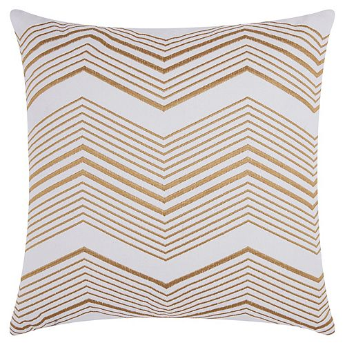 Mina Victory Lumin Thin Chevron Throw Pillow